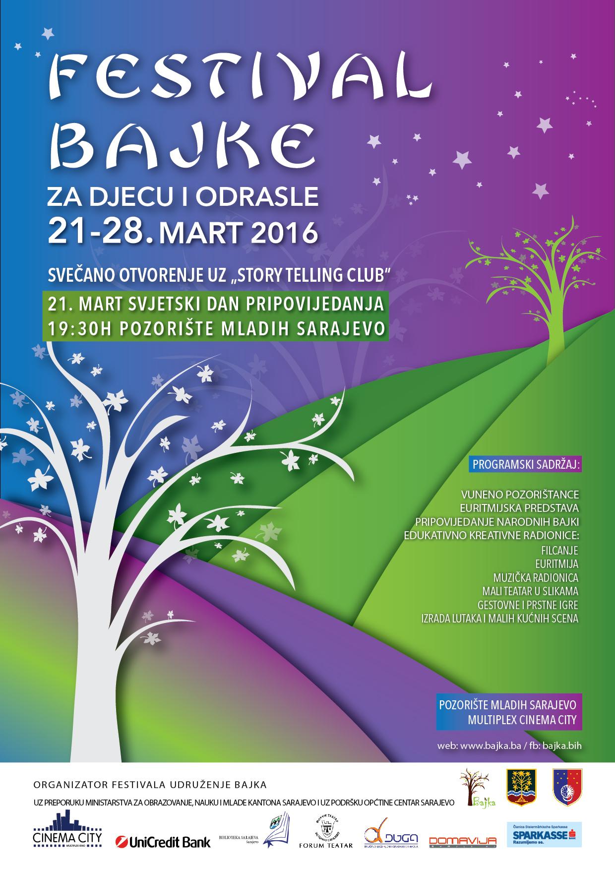 Festival Bajke Plakat